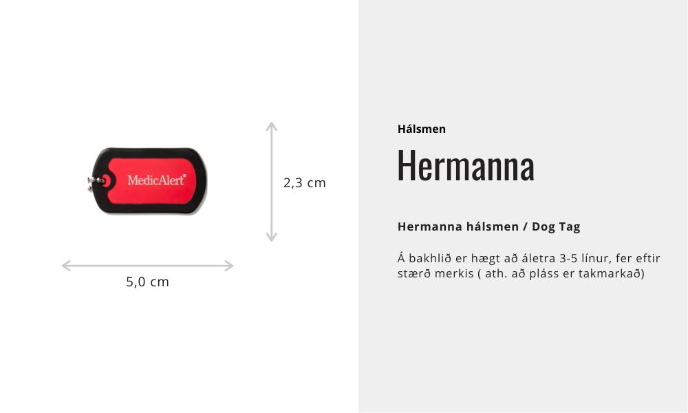Hálsmen - Hermanna
